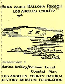 Ballona Wetlands Biota -- The Urban Wildlands Group